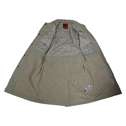 Men's Carter & Jones Rain Coat Black Navy Beige S to 5X Beige