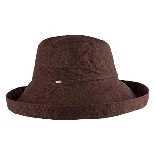 scala-packbarer-sonnenhut-lanikai-damen-schokolade-one-size