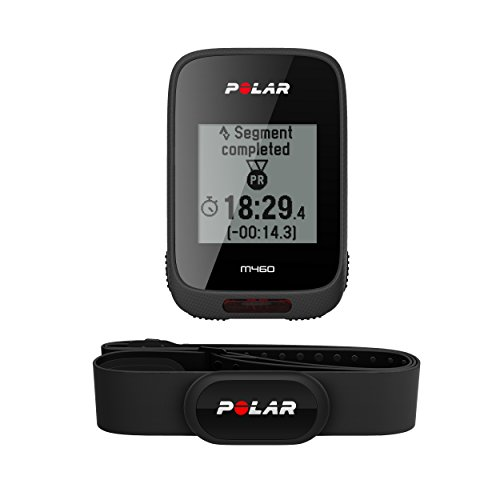 Polar Unisex M460 Integrated Gps Heart Rate and Altitude Tracker, Black, One Size