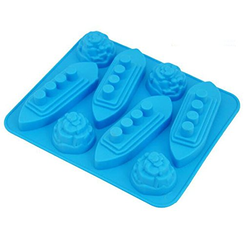 e Ice Cube Tray Tools Chocolate Ice Mould color random Diy Lovely Freeze Bar ()