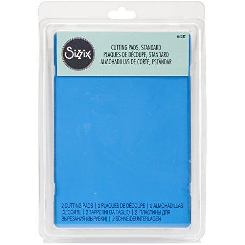 Sizzix Accessory Standard Schneiden Pads, 1Paar, Blueberry -