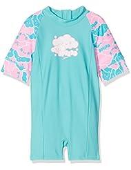 Speedo Cosmic Cloud Essential All In One Suit Maillot de Bain Fille