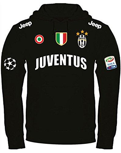sweatshirt-mit-kapuze-juventus-kapuzenpullover-personalisierte-m-schwarz