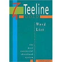 Teeline Gold Word List
