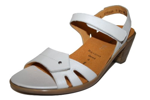 Theresia Muck Genova M54204-209-385, Damen Sandalen/Fashion-Sandalen Weiß