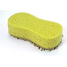 Amison Lavado práctica la limpieza del limpiador de microfibra Coral Esponja Cepillo para el coche auto