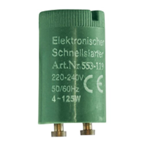 Schnellstarter für Leuchtstofflampen 4-125 Watt 5 Stück -