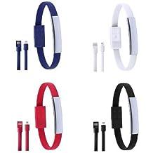 Lote de 20 Pulsera Micro USB Datos para Cargar Teléfonos presentada en Bolsa Individual. Detalles