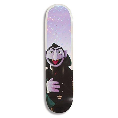 """Globe Skateboard Deck G2 Sesame Street Series Count von Count 7.75\"""""""