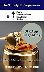 Startup Legalities: A Roadmap for the Legal Aspects Involved in Starting a Business (Grow Your Business in a Snap Book 3)