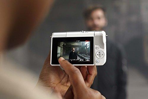 Canon EOS M10 Fotocamera Mirrorless, 18 Megapixel, Bianco [Versione Canon Pass Italia]