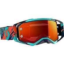 41bad156f5c Scott Prospect - Gafas de Motocross, Blue Orange (Orange Chrome Works)