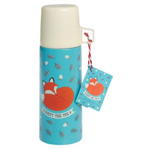 """Preisvergleich Produktbild Thermosflasche Thermoskanne mit Becher Fuchs """"Rusty the fox"""" 350 ml # 24641"""