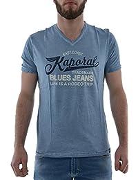 L tee shirt kaporal rena bleu