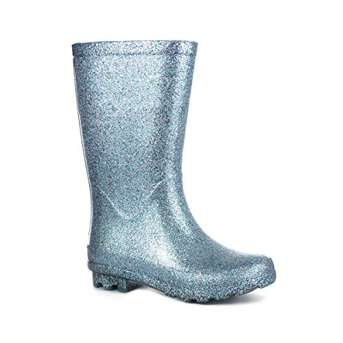 Wellygogs Blue Glitter Welly