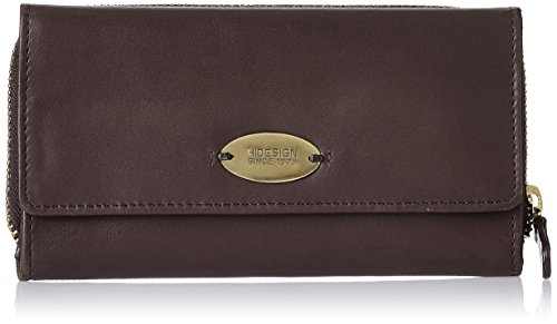 A luxury leather goods brand like Hidesign  has always been recognized for its quality, ecological values and personalized service.  The brand has focused on contemporary designs, catering to savvy and sophisticated urban professionals who seek style and comfort, at the same time.  I bought this wallet an year back because when it comes to pure leather and durability, I think nothing but Hidesign.  It is a beautiful deep chocolate brown color in a  comfortable size that can store all my valuables.  So whether I carry it in my handbag or alone, the classy wallet is sure to fetch me innumerable compliments.