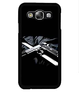 Crazymonk Premium Digital Printed Back Cover For Samsung Galaxy A7
