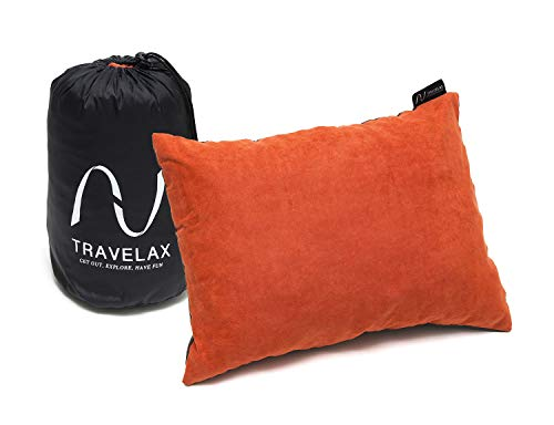 Travelax cuscino da viaggio, campeggio o collo, leggero, lavabile - non gonfiabile