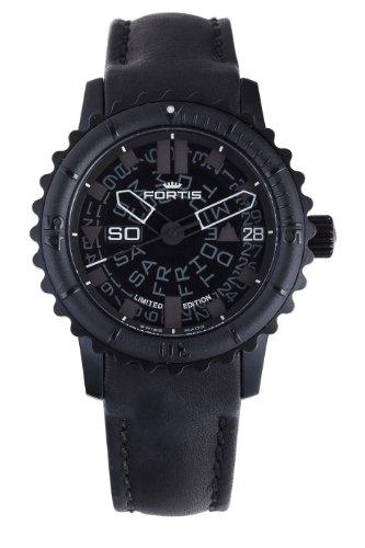 fortis-6751881-del-hombre-l01-b-42-big-automatico-negro-pvd-bisel-giratorio-reloj-de-piel