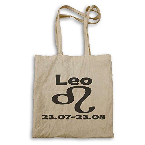 Leo Segno zodiacale novità divertente tote bag a91r