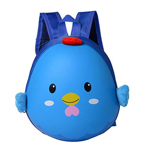 Stobok zaino carino grembiule sacchetti di scuola studente sacchetti di cartone bookbags per neonati ragazzi ragazze bambini asilo nido (blu)
