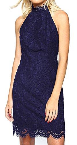 Abendkleid blau eng