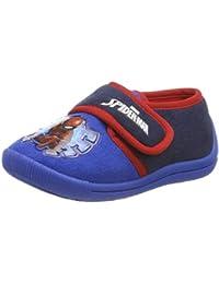 a13cecb9e Spiderman Boys Kids Velcro Low Houseshoes