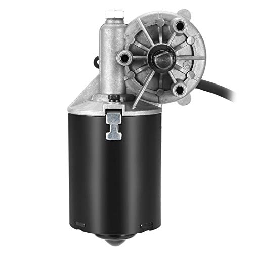 ZCHXD 12mm Right Angle D Shaft 12V DC Reversible Electric Gear Motor 40 RPM