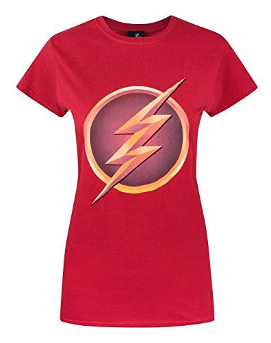 official-flash-tv-logo-womens-t-shirt-m