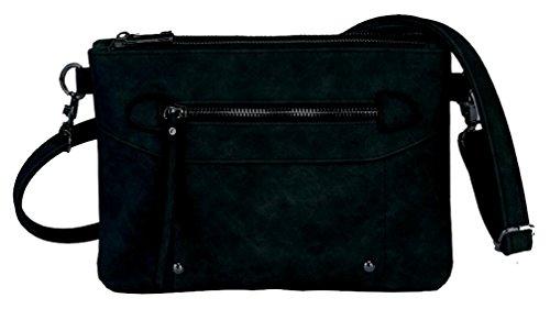 Alessandro® Damentasche ANCORA 5790 Handbag Damen Handtasche 4 Farben Anthrazit