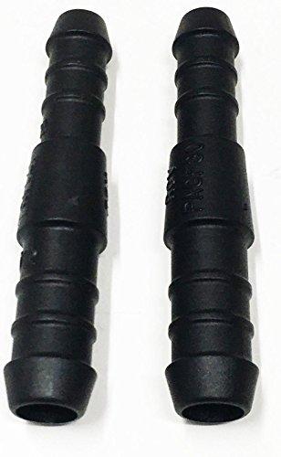 2x 16–12mm Kunststoff Stacheldraht Reduzierstück Adapter Schlauchverbinder Kraftstoffleitung Tischler