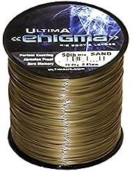 Ultima Enigma Ultra rígida mar pesca línea, Unisex, Enigma, arena, 0.75 mm - 70.0 lb