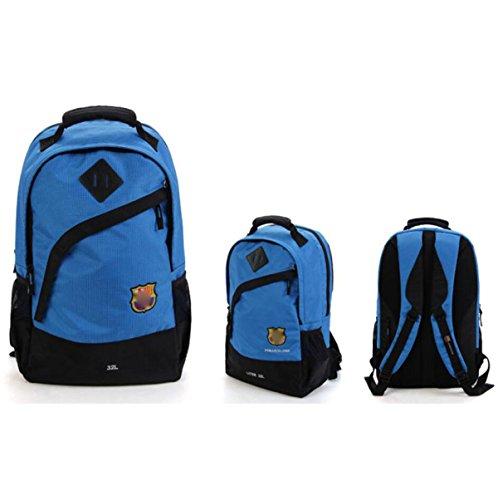 Ultra Leggero Zaino Da Trekking Zaino Da Trekking Daypack Impermeabile Outdoor Sport Borsa Unisex,Red Blue