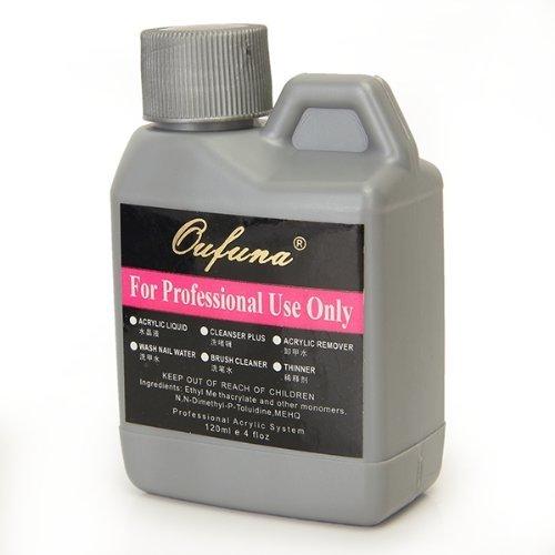 Lifecart professional acrylic liquid for nail art powder tips 120ml by lifecart