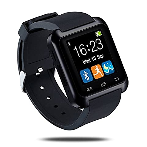 LaTEC Montres Connectées Smart Watch Bluetooth 4.0 Multi-languages Smartwatch Sportif