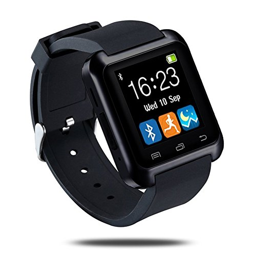 LaTEC SmartWatch Bluetooth reloj inteligente con Podómetro, Fitness,