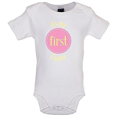 My First Easter - Girl - Marrant Bébé-Body - Blanc - 0 à 3 mois