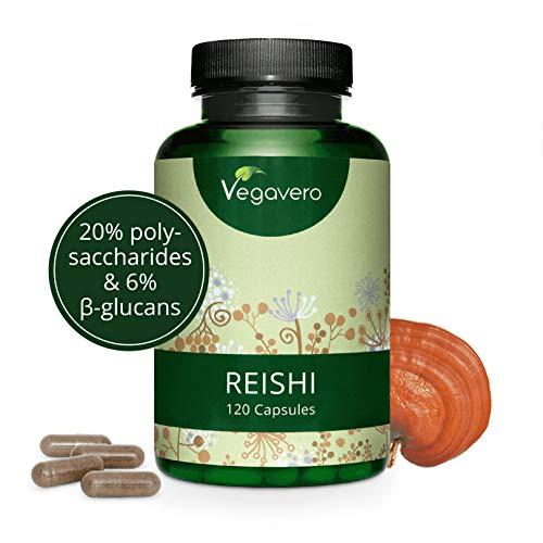 Reishi Vegavero® 4000 mg | El Único Estandarizado | 120 Cápsulas |...