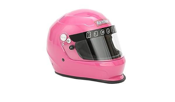Hot Pink RaceQuip 2238893 Pro Kids Full-Face Model Youth//Jr Auto Racing Helmet