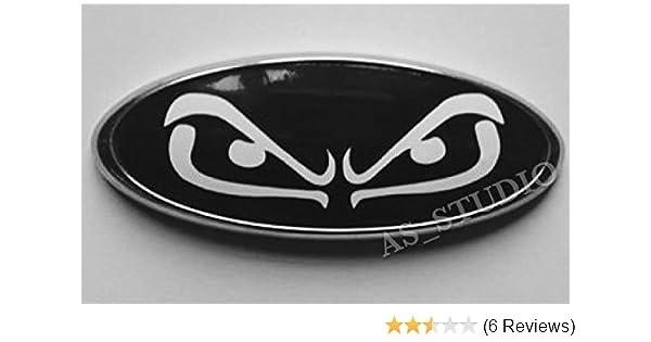 2x 175x69mm Emblem Pflaume Folie Carbon schwarz 164x63mm