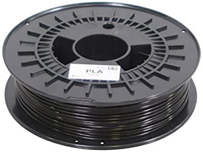 German RepRap PLA Filament, 750 g, 3 mm, schwarz