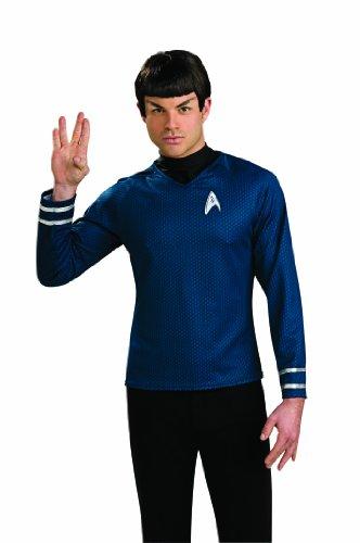 Klingonen Kostüm - Rubie's Star Trek Classic Spock Perücke, Einheitsgröße