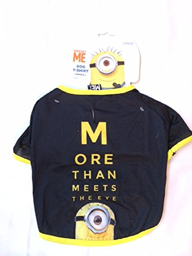 nions Hund Pet T-Shirt Jacke [Größe: Small] (Despicable Minion-kostüm)