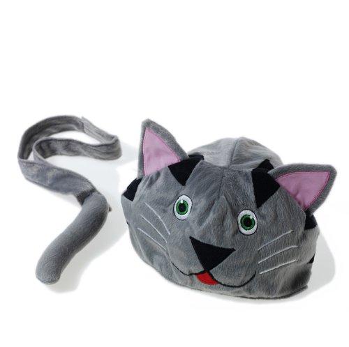 Ellen Kinder Kostüme (Cat Hut und Schwanz Kostüm, perfekt für putzt sich und Kinder spielen)