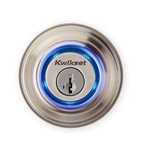 Kwikset Kevo (2nd Gen) Touch-to-Open Bluetooth Smart Lock in Satin Nickel by Kwikset - Kevo