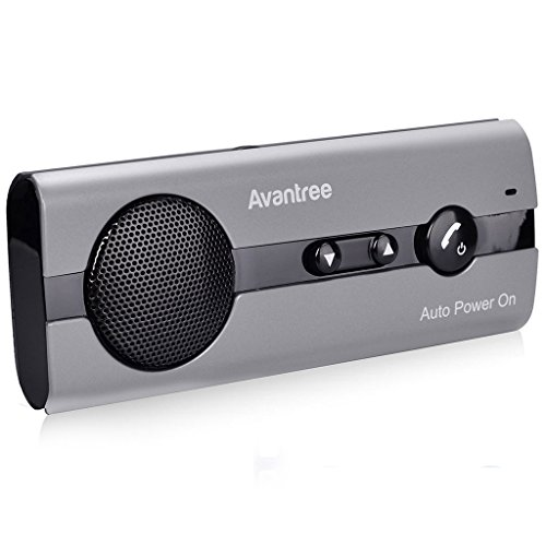 Avantree 10BS AUTO POWER ON Bluetooth - Manos Libres para Coche Kit...