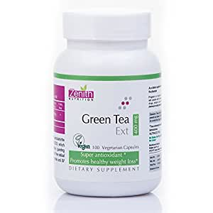 Zenith Nutrition Green Tea Extract 400 mg - 100 Capsules