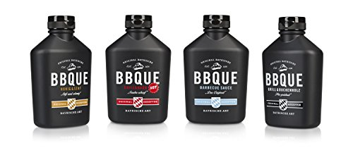 BBQUE Vorteilspaket Original Bayrische Barbecue Saucen im 4er Set