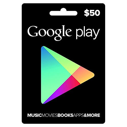 Google Play Store $50 Gift Card (US)