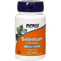 Selenium 100 mcg - 100 comprimes - Now foods